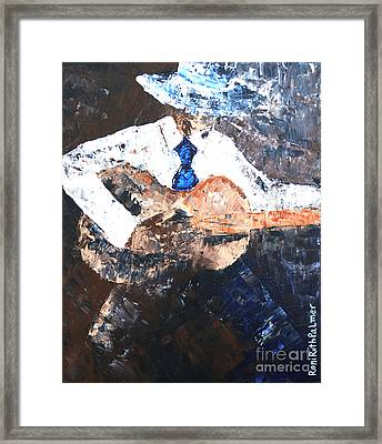 Seranade For You Framed Print by Roni Ruth Palmer