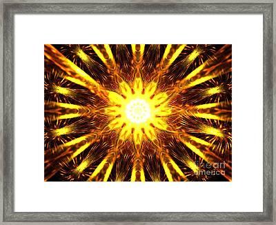 Seraphim Framed Print by Kim Sy Ok