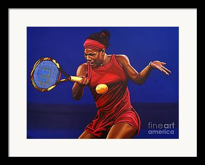 Us Open Paintings Framed Prints