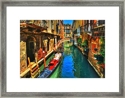 Serenade Of Colors Framed Print