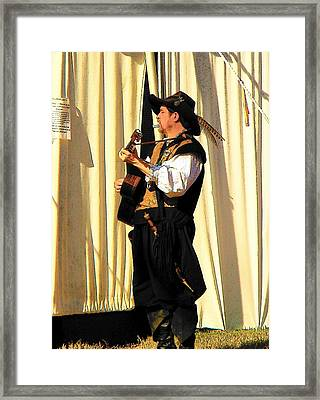 Serenade Framed Print by Rodney Lee Williams