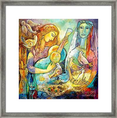 Serenade Framed Print by Shijun Munns