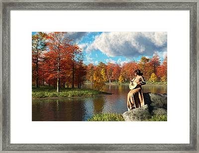 Serenading The Fall Framed Print by Daniel Eskridge