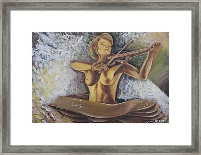 Serenata Framed Print by Gani Banacia
