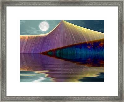 Serendipity By Moonlight Framed Print by Wendy J St Christopher