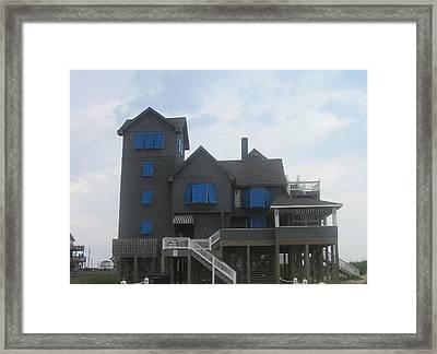 Framed Print featuring the photograph Serendipity House by Cathy Lindsey