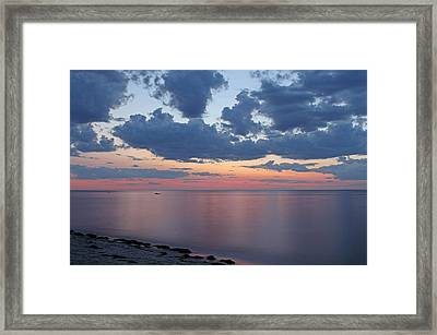Serene Cape Cod Bay Framed Print by Juergen Roth