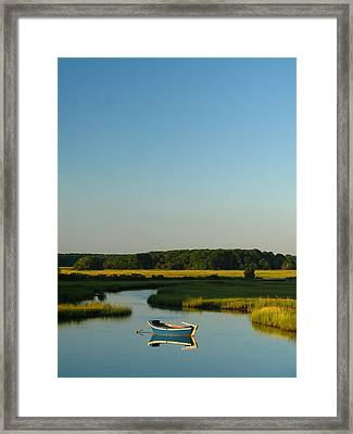 Serene Cape Cod Framed Print by Juergen Roth