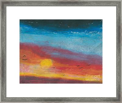 Serene Framed Print by R Kyllo
