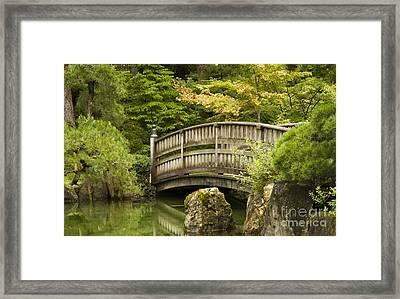 Serene Sanctuary Framed Print