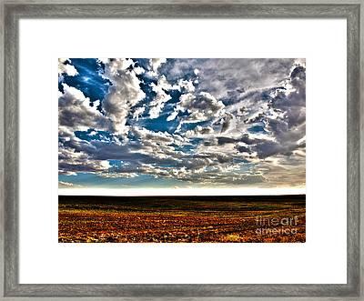 Serene Skies Framed Print by Christian Jansen