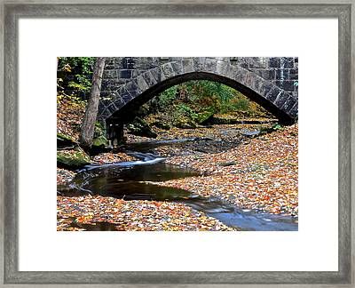 Serene Stream Framed Print by Frozen in Time Fine Art Photography