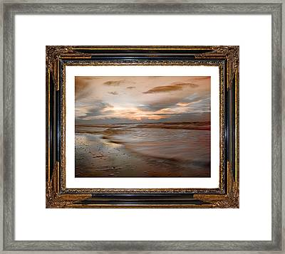 Serene Sunrise Framed Print by Betsy Knapp
