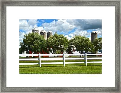 Serene Surroundings Framed Print by Frozen in Time Fine Art Photography