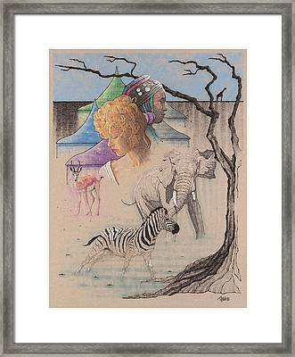 Serengeti Diary Framed Print by Terry A White