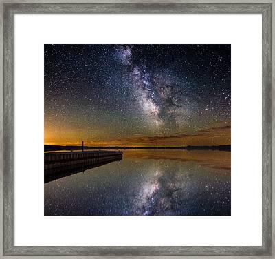 Serenity Framed Print by Aaron J Groen