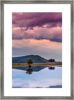 Serenity And Fullness Framed Print by Edgar Laureano