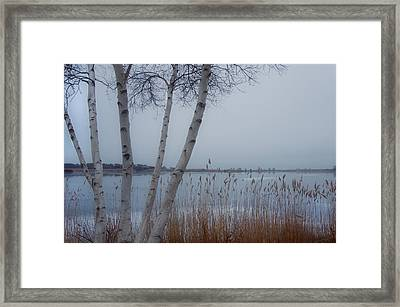 Serenity By The Sea Framed Print