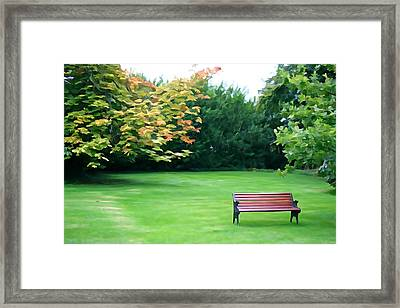 Framed Print featuring the photograph Serenity by Charlie and Norma Brock