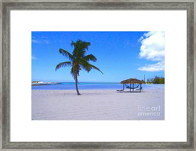 Serenity Framed Print by Carey Chen