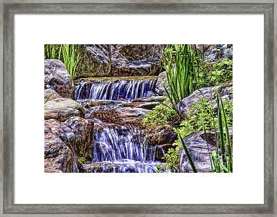Serenity Falls Framed Print