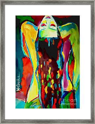 Serenity Framed Print by Helena Wierzbicki