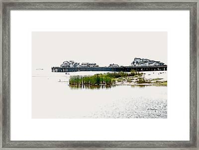 Serenity II - Santa Barbara Framed Print