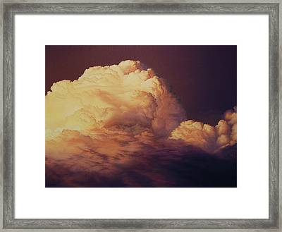 Serenity In Yellow Framed Print