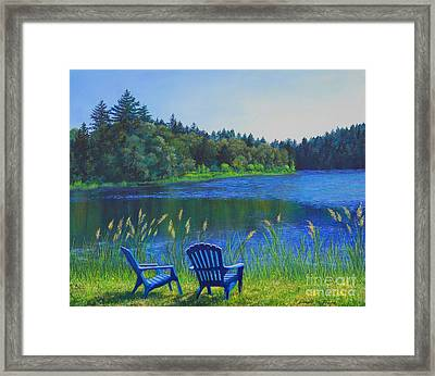 Serenity Framed Print by Jeanette French