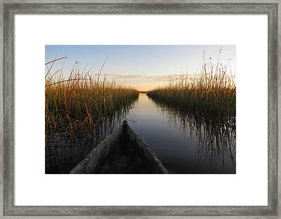 Serenity Framed Print by Karen E Phillips