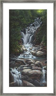 Serenity Framed Print by Kim Lockman