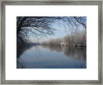 Serenity Framed Print by Laura Corebello