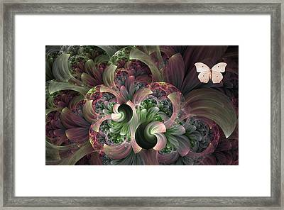 Serenity Framed Print by Lea Wiggins
