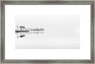 Serenity Framed Print by Janet Burdon