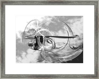 Serenity Framed Print by Louis Ferreira