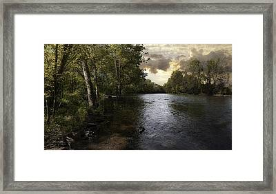 Framed Print featuring the photograph Serenity by Lynn Geoffroy