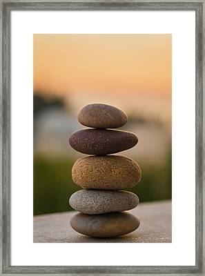 Serenity Framed Print by Marco Oliveira