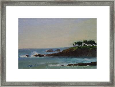 Serenity Framed Print by Maria Hunt