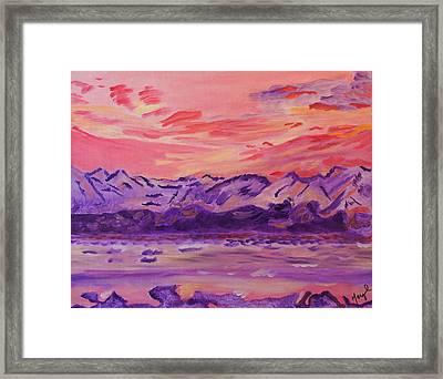Serenity Framed Print by Meryl Goudey
