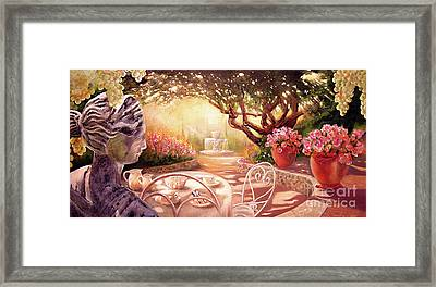 Serenity Framed Print by Michael Rock