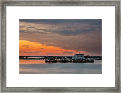 Serenity Framed Print by Mike Lang