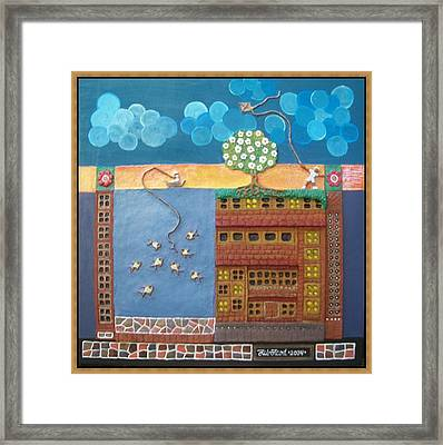 A One Surreal Day Framed Print