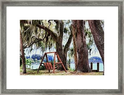 Serenity Framed Print by Pamela Blizzard