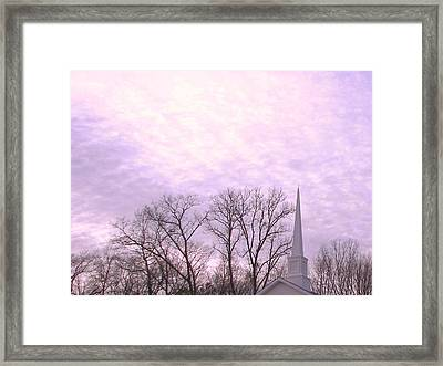 Framed Print featuring the photograph Serenity by Pamela Hyde Wilson