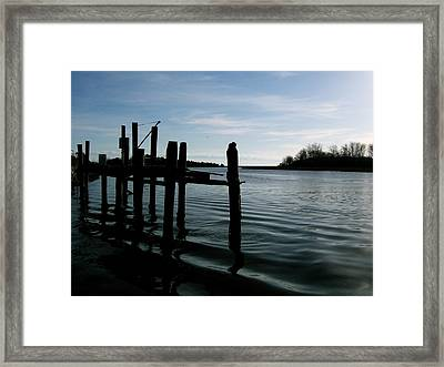 Framed Print featuring the photograph Serenity by Paul Foutz