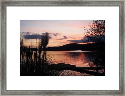 Serenity Pink Framed Print