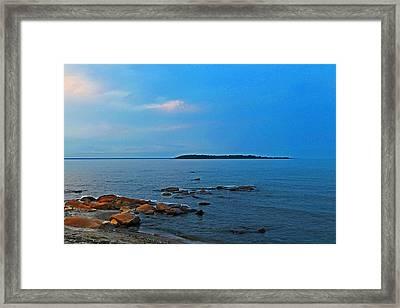 Serenity Framed Print by Rhonda Humphreys