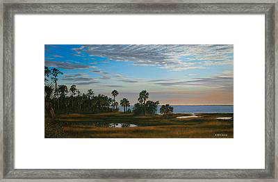 Framed Print featuring the painting Serenity by Rick McKinney