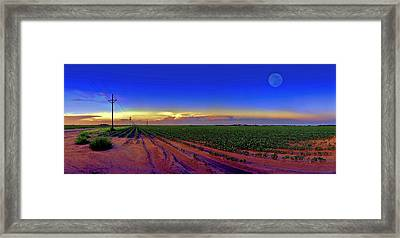 Serenity Framed Print by Robert Hudnall