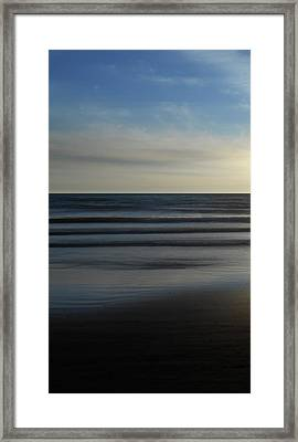 Serenity - Sauble Beach Framed Print